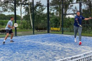 Geslaagd padel- en tennistoernooi bij Triomf